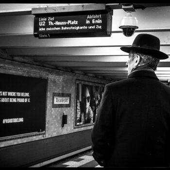 Strangers in Berlin.